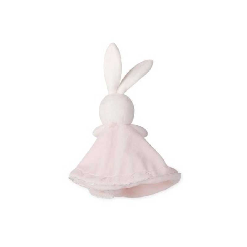 Doudou Rond Lapin Peluche Rose 20 cm Kaloo