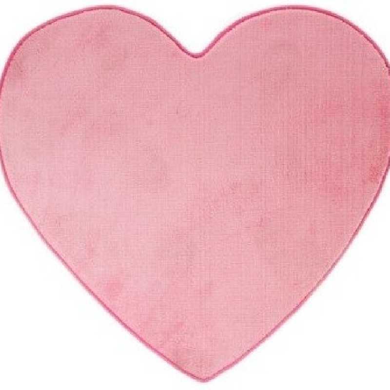 Tente enfant yourte Rose + Tapis de chambre coeur Rose