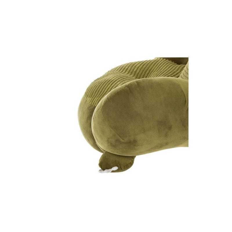 Fauteuil enfant Dinosaure en peluche Vert