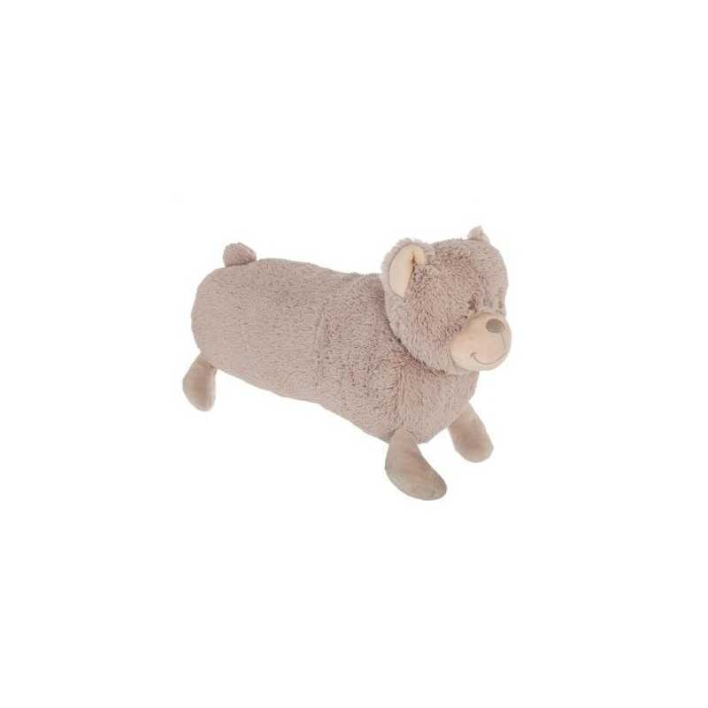 Coussin Enfant Ours 50cm Taupe Atmosphera for kids