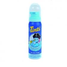 Mousse de bain bleue Tinti