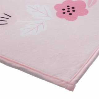 Tapis de chambre enfant Rose 90 x 60 Atmosphera for kids