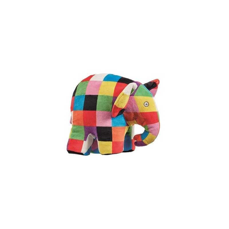 Peluche doux en forme d'éléphant