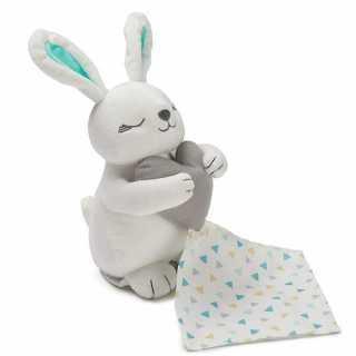 Peluche apaisante lapin Blanc