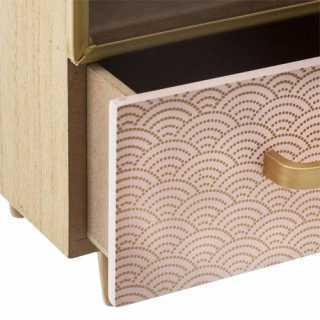 Mini Meuble 1 tiroir + 1 Porte avec 2 espaces de Rangement
