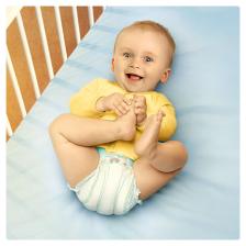 Pampers - Active Fit - Couches Taille 5+ (13-25 kg/Junior+) - Pack économique 1 mois de consommation (x124 couches)