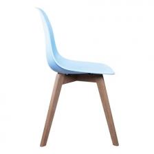 Chaise scandinave bleue pour enfant