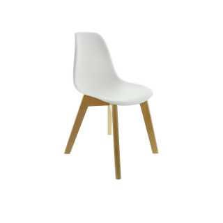 Chaise scandinave blanche pour enfant