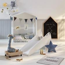 Toboggan enfant Blanc Atmopshera for kids