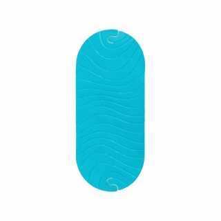 Tapis de bain antidérapant Ripple Bleu