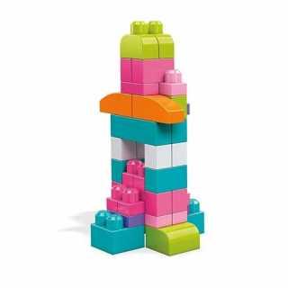 Pack de 60 briques de construction Rose