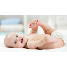 Pampers - Active Fit - Couches Taille 3 (5-9kg/Midi) - Pack économique 1 mois de consommation (x204 couches)