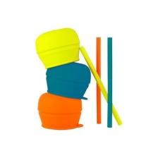 Couvercles et gobelet en silicone