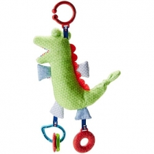 Peluche d'activités Crocodile