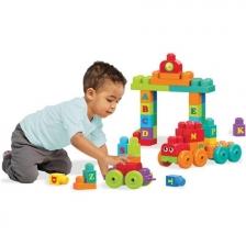 Jeu de construction Train ABC 60 briques