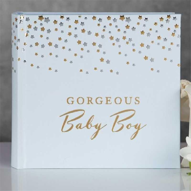 Magnifique album photo baby Boy Bleu
