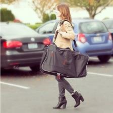 Housse de transport de siège auto Travel Bag Noir