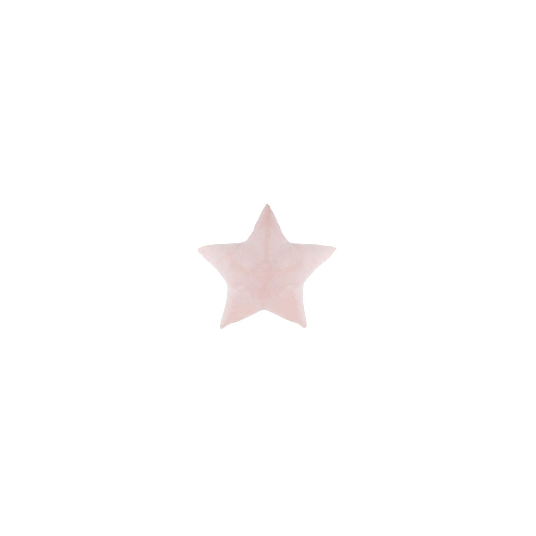 Coussin étoile Led Rose