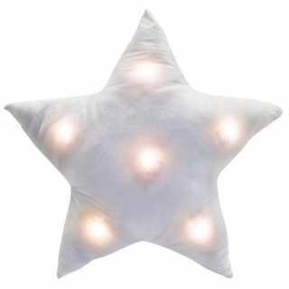 Coussin étoile Led Blanc