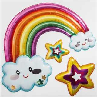 Stickers adhésif décoratif Arc en ciel