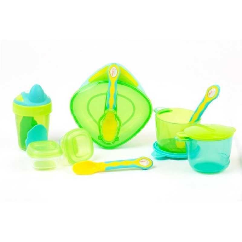 Kit de sevrage bébé dès 6 mois Vert
