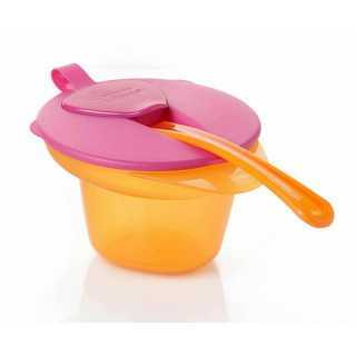 Bol 1er Âge Tommee Tippee - Orange / Rose