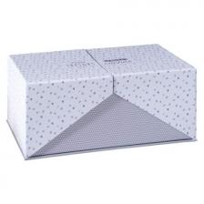 Set de 3 boîtes de rangements en carton Surprise Gris
