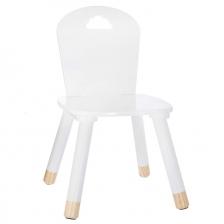 Set Table douceur blanc + 2 chaises douceur blanc