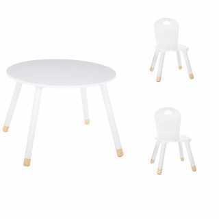 Set Table douceur blanc + 2...