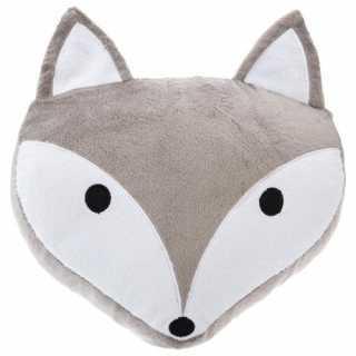 Coussin décoratif enfant tête de renard