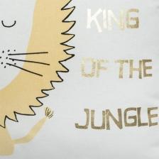 Coussin décoratif enfant lion 40 x 40