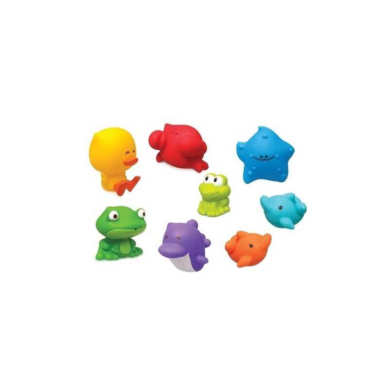 Set de 8 compagnons de bain