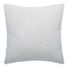 Coussin décoratif Fake Fur Chat Blanc