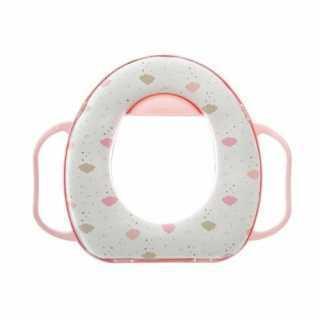 Réducteur de toilette bébé Rose