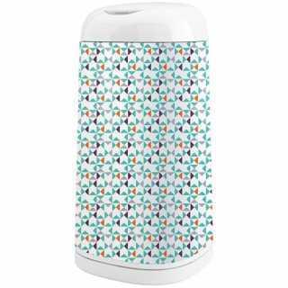 Housse décorative pour poubelle à couches Dress Up Géométrie