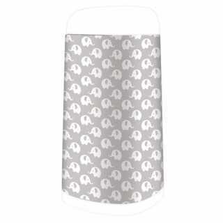 Housse décorative pour poubelle à couches Dress Up Eléphant gris