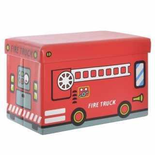 Boîte de rangement pliable Pompiers