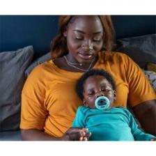 Lot de 2 sucettes forme de sein maternel 6-18 mois