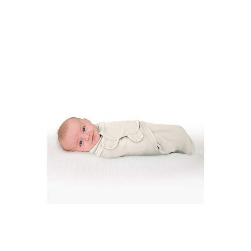 Gigoteuse bébé 0-3 mois Swaddle Me Ivoire
