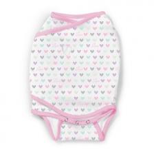 Gigoteuse bébé 0-3 mois Swaddle Me Kicksie Lots of Love