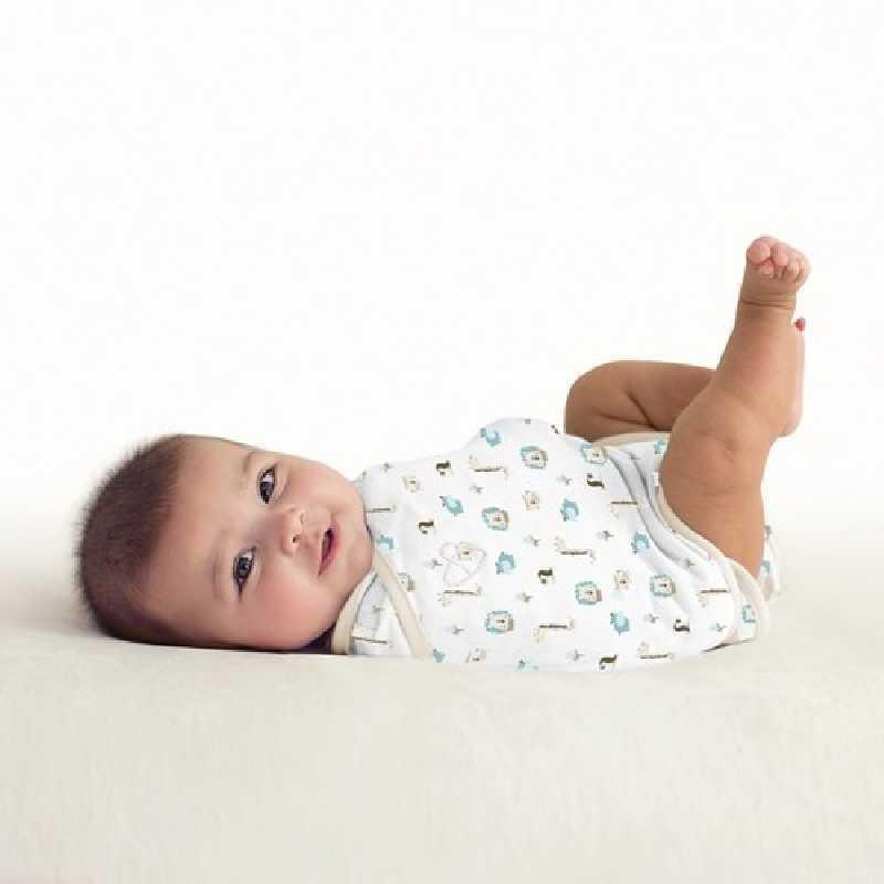 Gigoteuse bébé 0-3 mois Swaddle Me Kicksie Baby Jungle