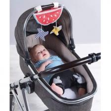 Pare-soleil pastèque bébé