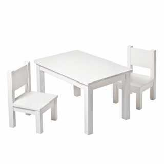 Set Table Hevea Blanche + 2...