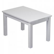 Ma première table en bois Hevea Grise