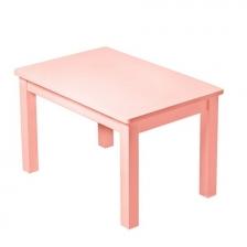 Ma première table en bois Hevea Rose