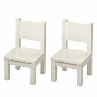 Lot de 2 chaises en bois...