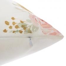 Coussin décoratif licorne pompons