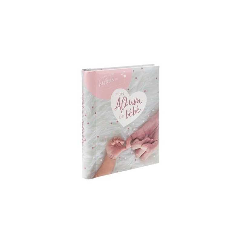 Livre de naissance 100 pages Rose