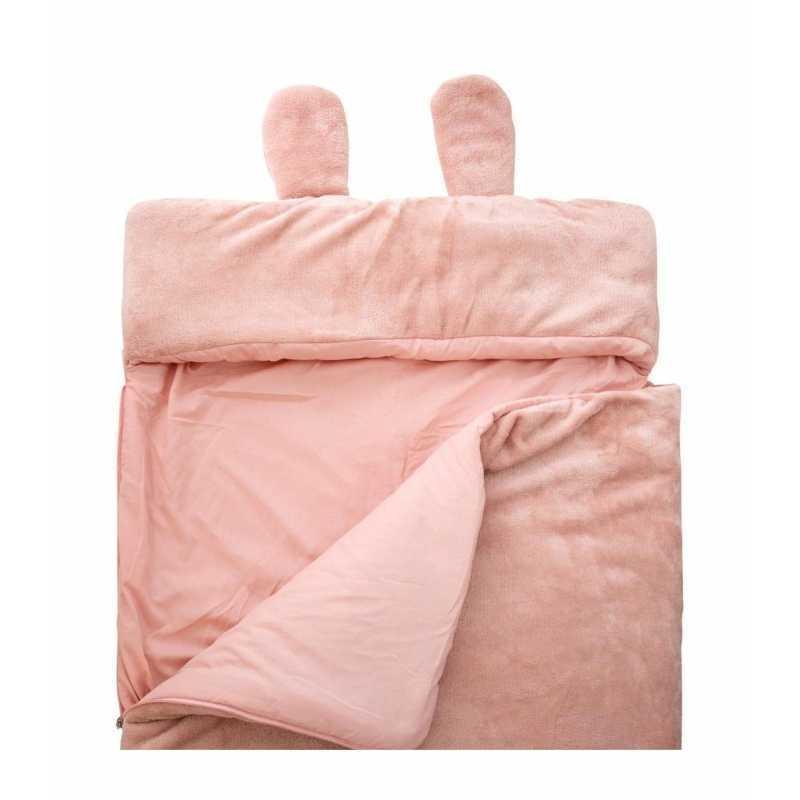 Sac de couchage enfant Lapin Rose 77 x 155