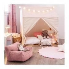 Toile pour cabane en bois pour fille 116 x 126